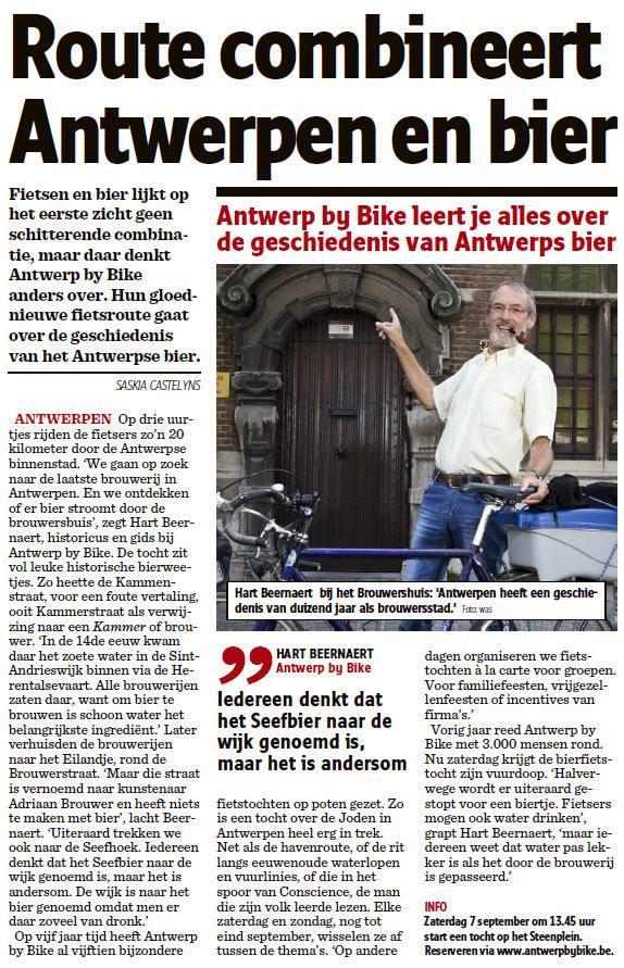 Het Nieuwsblad - 4 september 2013