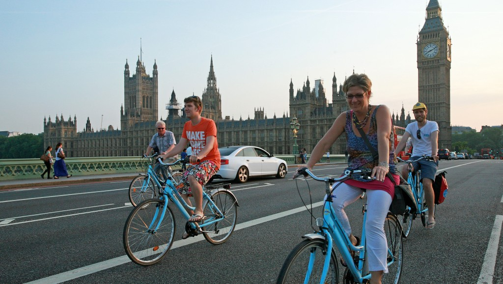 London Bicycles on tour