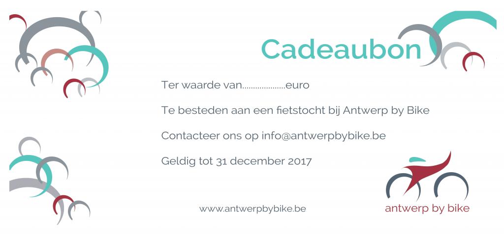 cadeaubon Antwerp By Bike
