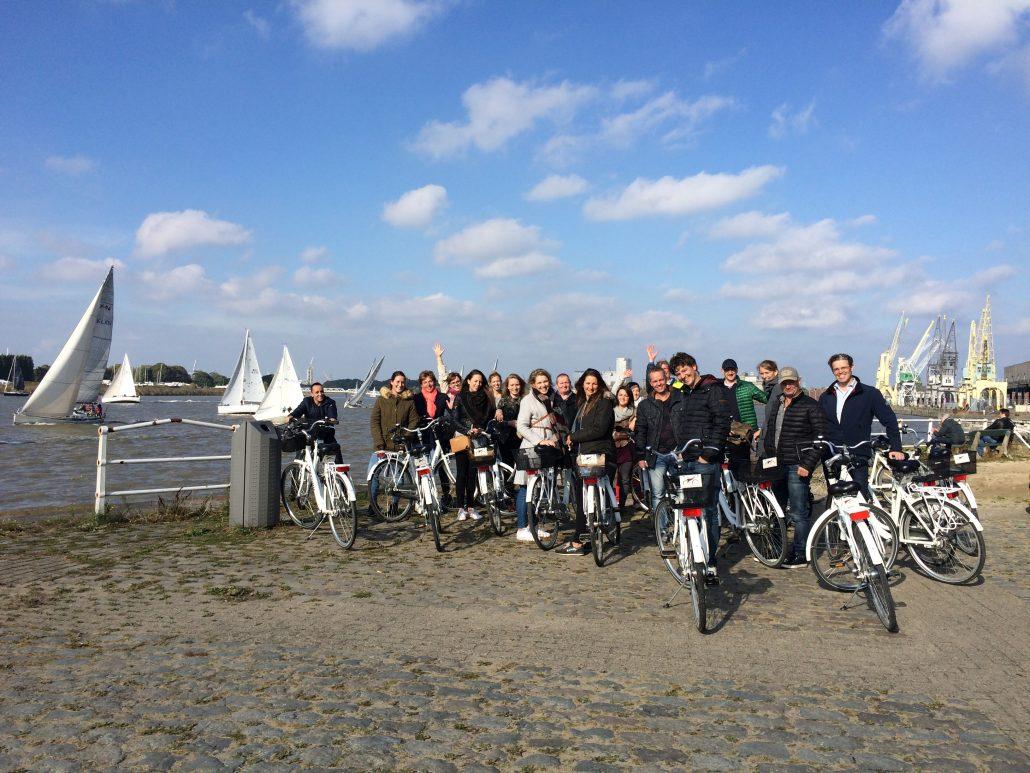 Zonnige dag met stop aan het loodswezen in Antwerpen